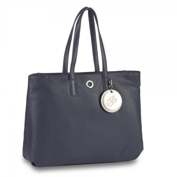 Mandarina Duck - Mellow Leather Shopper FZT27 in blau