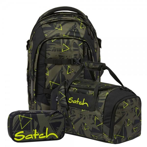 Set aus pack + Schlamperbox + Sporttasche