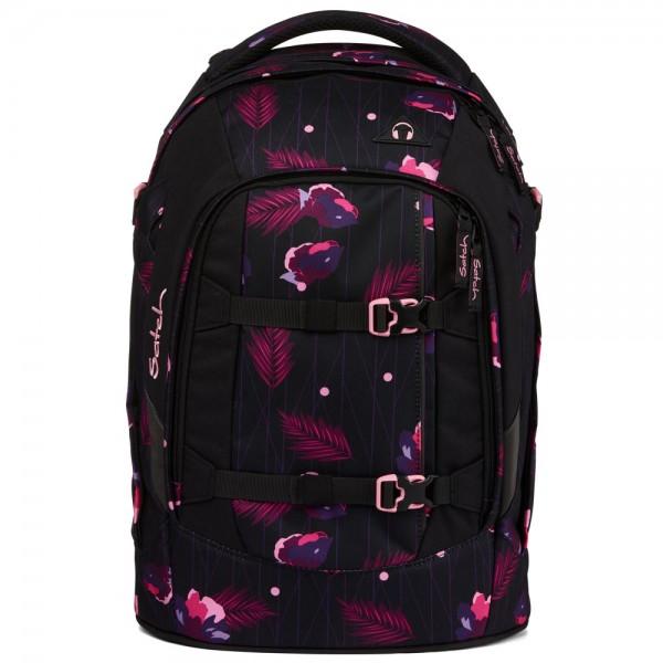 satch - pack Schulrucksack Mystic Nights in violett