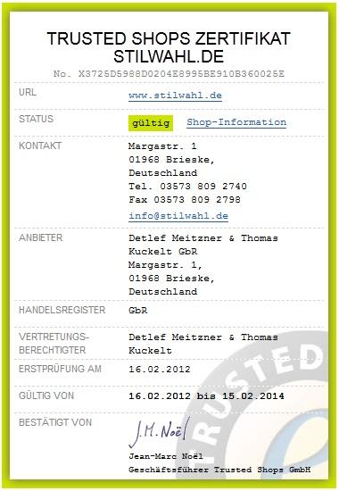 Trusted_Zertifikat