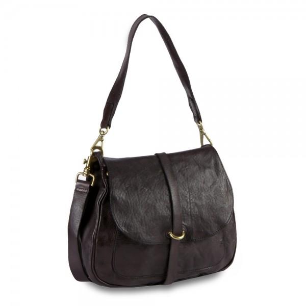 Shoulder bag cow.+plain strap-p/d* C023610ND X0001