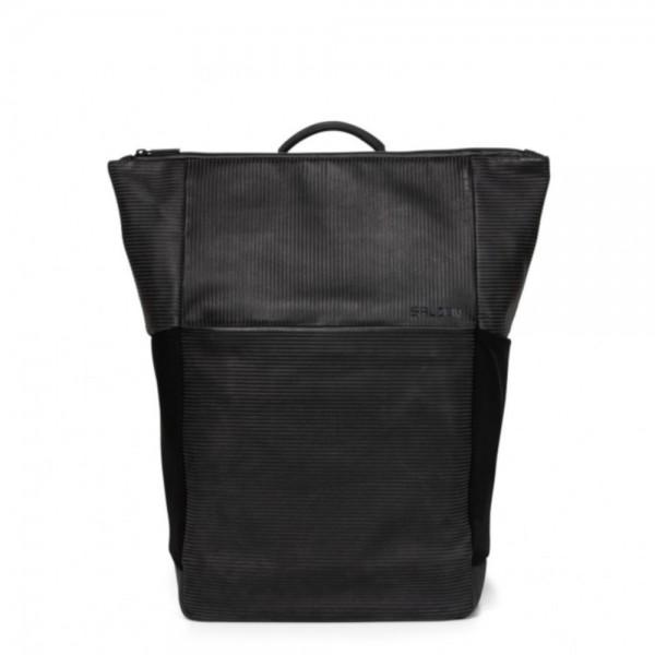 SALZEN - Leather Plain Backpack ZEN-PBPLEA in grau