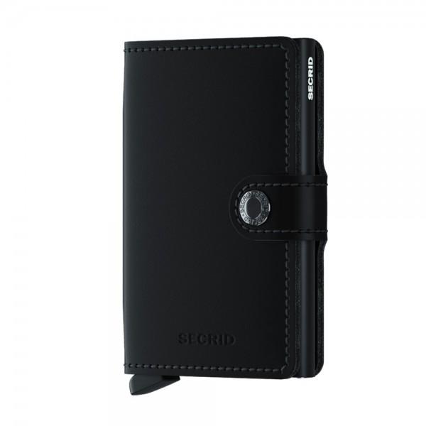 SECRID - Matte Miniwallet in schwarz