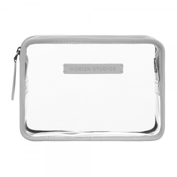 Horizn Studios - Kosmetik Beutel - transparent in grau
