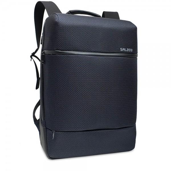 SALZEN - Solid X Sharp Business Backpack ZEN-SHA-SolidX in blau