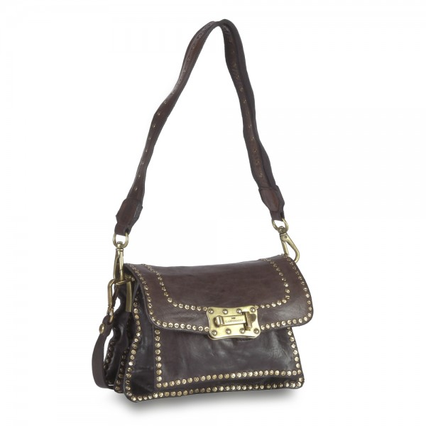 Crossbody Medium Cow. + Studs Profile-P/D C016500ND